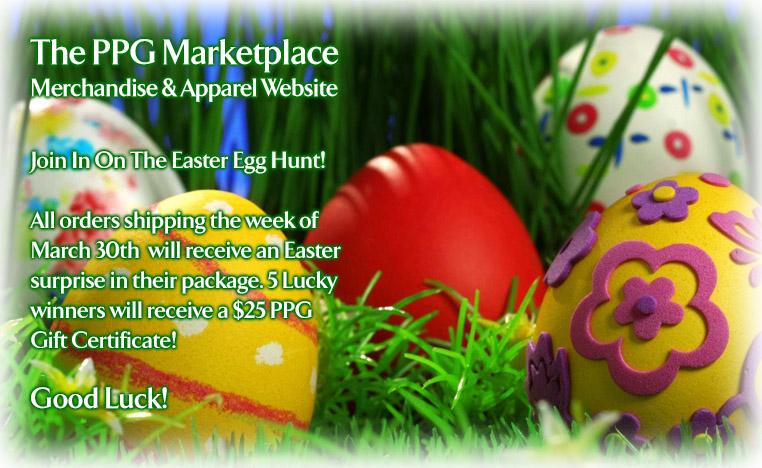 PPG Marketplace Merchandise & Apparel Website
